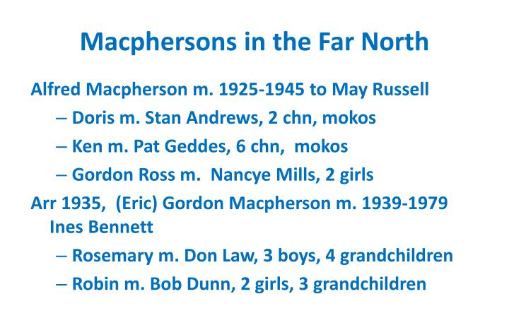 Macphersons