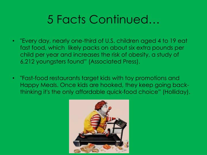 is fast food to blame for You may think that obesity is a form of disease, like being addicted to drugs or  alcohol, but that is not the case from, what i've researched i can prove that fast.