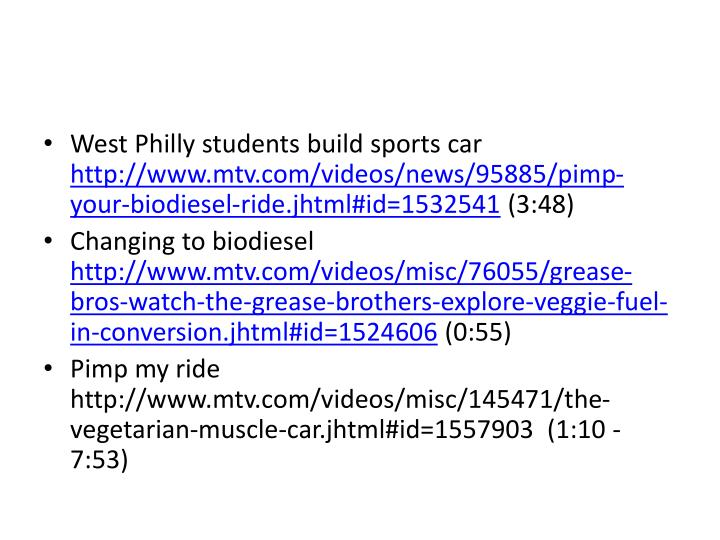 West Philly students build sports car
