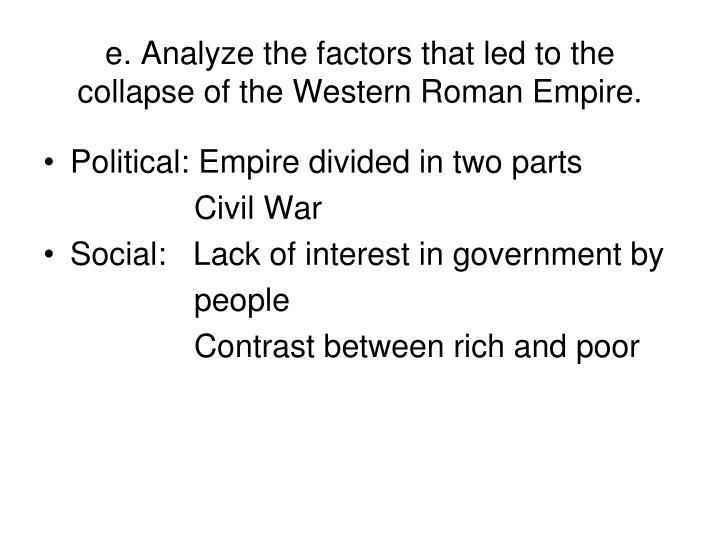 the end of western roman empire essay