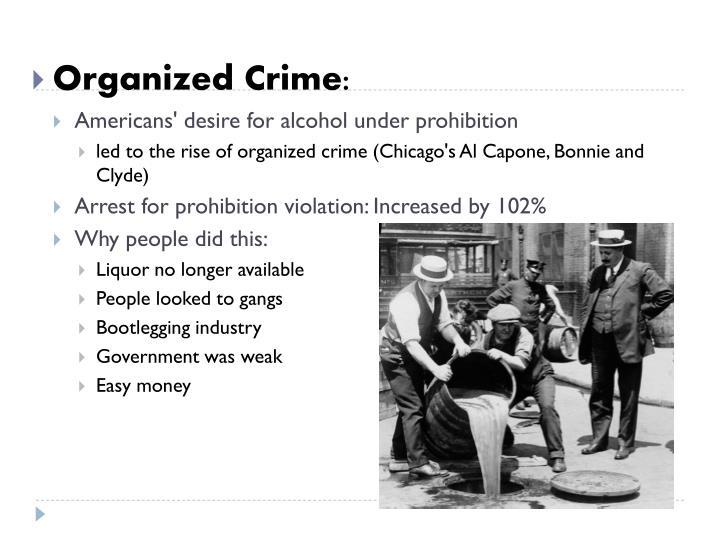 Organized Crime: