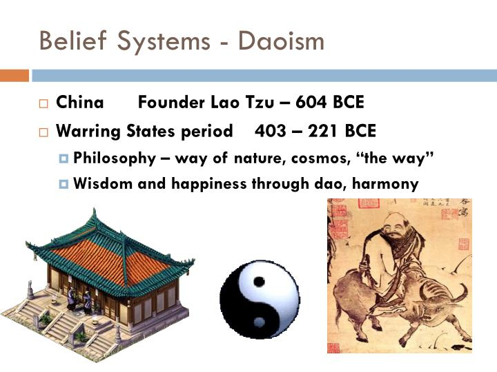 Belief Systems - Daoism