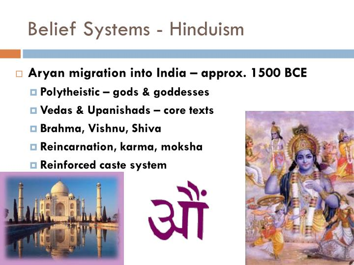 Belief Systems - Hinduism