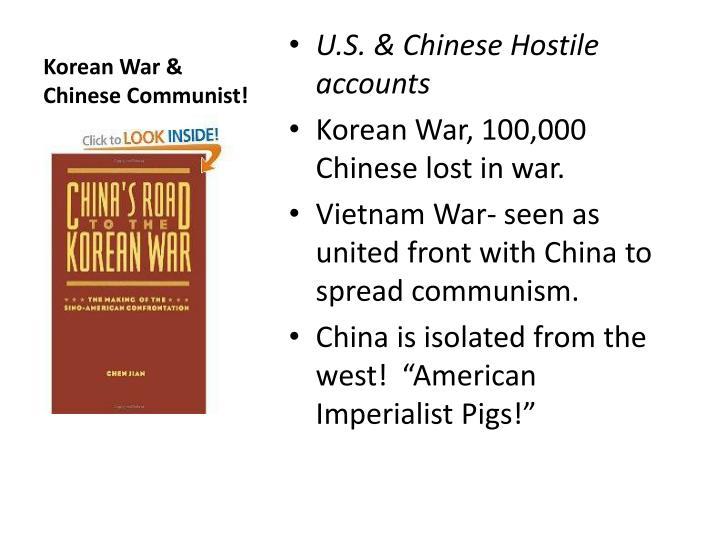 Korean War & Chinese Communist!