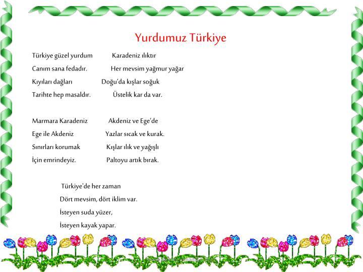 Yurdumuz Türkiye