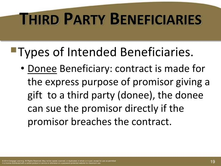Third-Party Beneficiary
