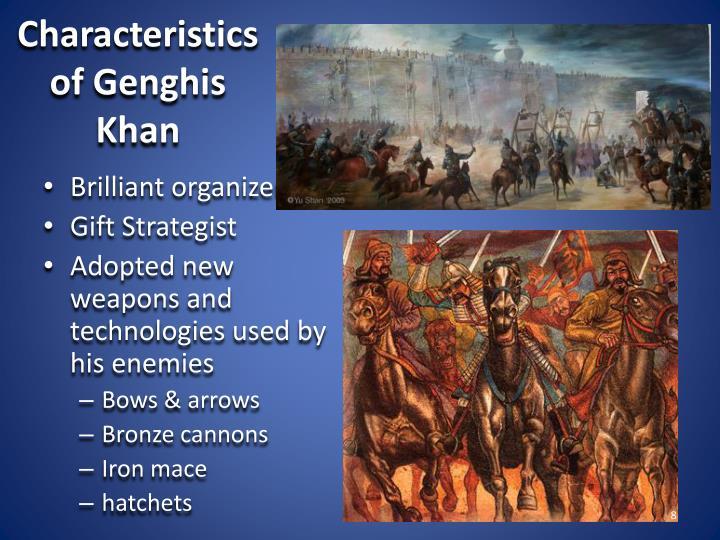 Characteristics of Genghis Khan