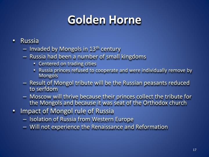 Golden Horne