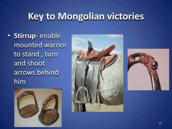 Key to Mongolian victories