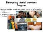 emergency social services program1