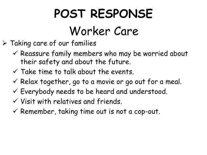 POST RESPONSE