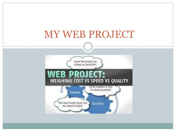 My web project
