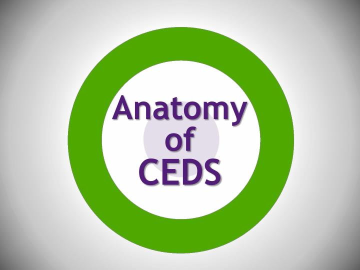 Anatomy of ceds