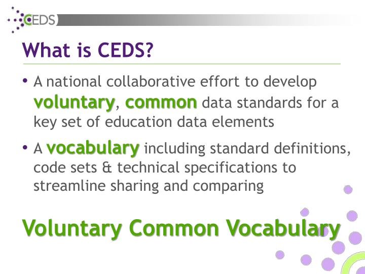 What is ceds