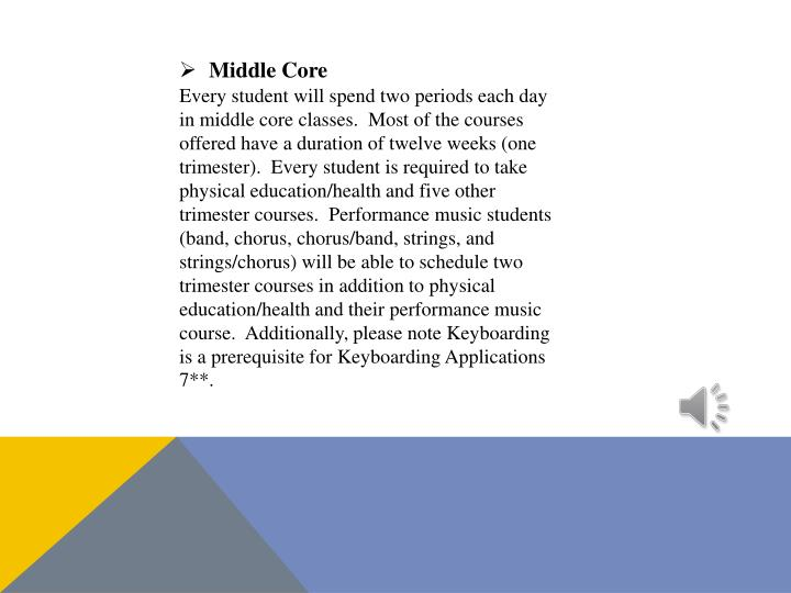 Middle Core