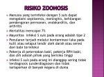 risiko zoonosis
