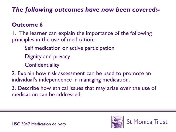 support use of medication in socia Free essay: health&social care (adult) advanced diploma including dementia pathway unit cu1572 support use of medication in social care settings 11.