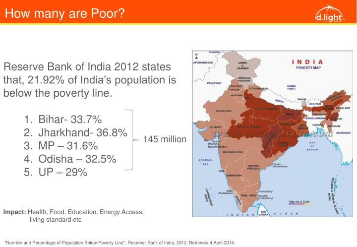 How many are Poor?