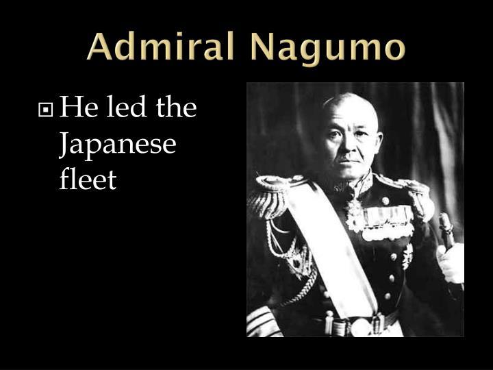 Admiral Nagumo