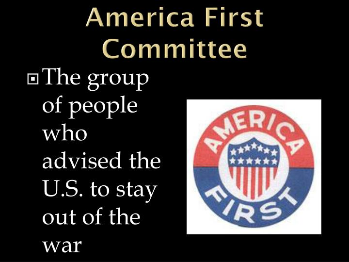 America First Committee