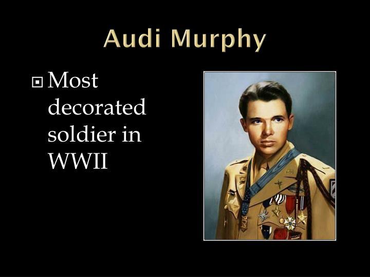 Audi Murphy