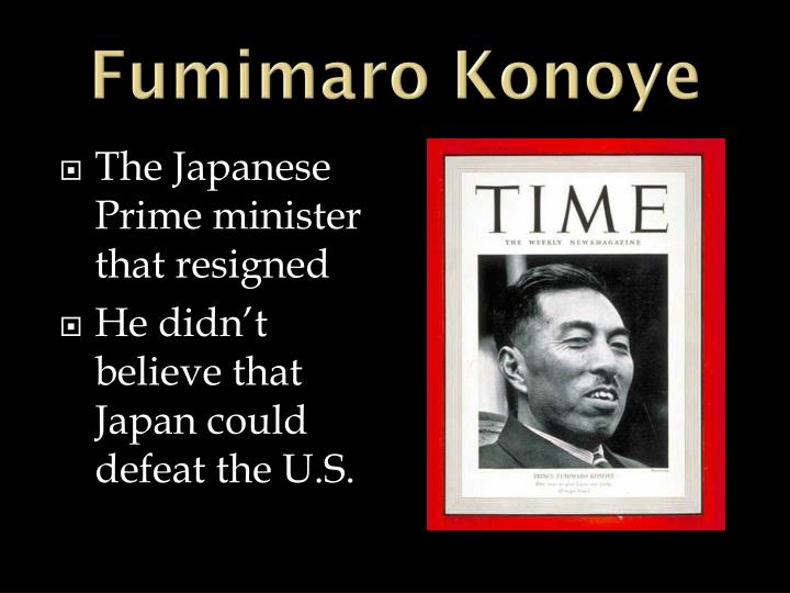 Fumimaro Konoye