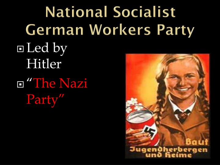 National Socialist German Workers Party