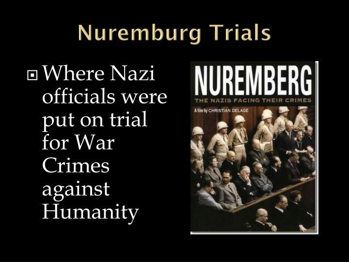 Nuremburg Trials