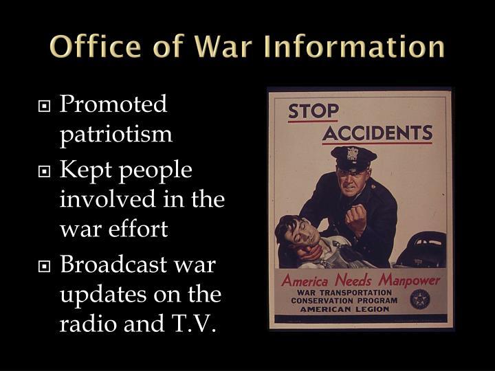 Office of War Information
