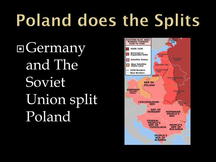 Poland does the Splits