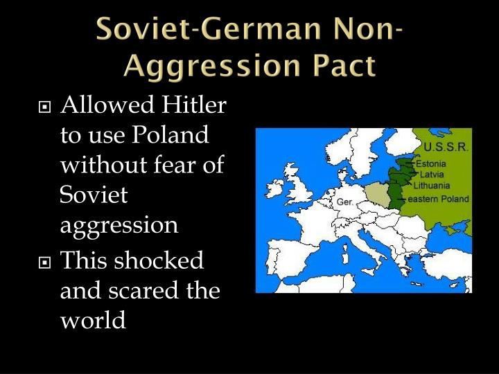 Soviet-German Non-Aggression Pact