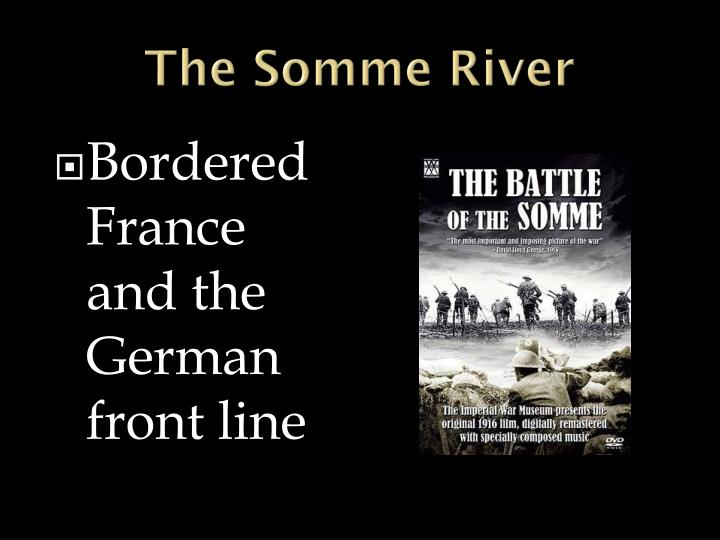 The Somme River
