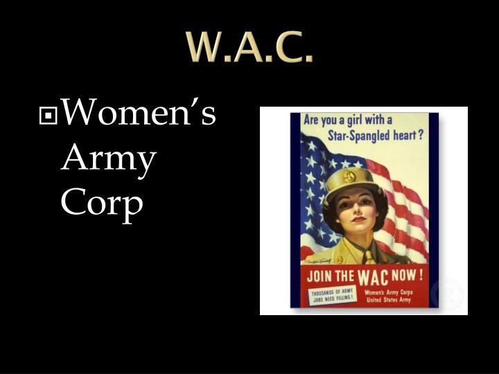 W.A.C.