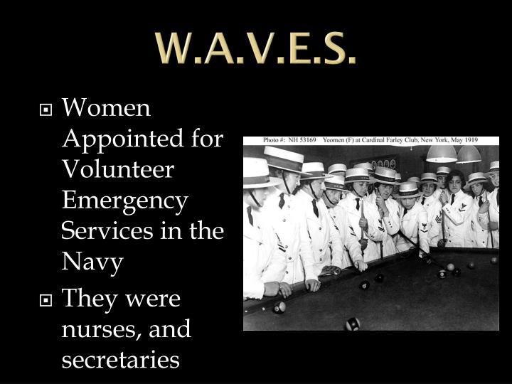W.A.V.E.S.