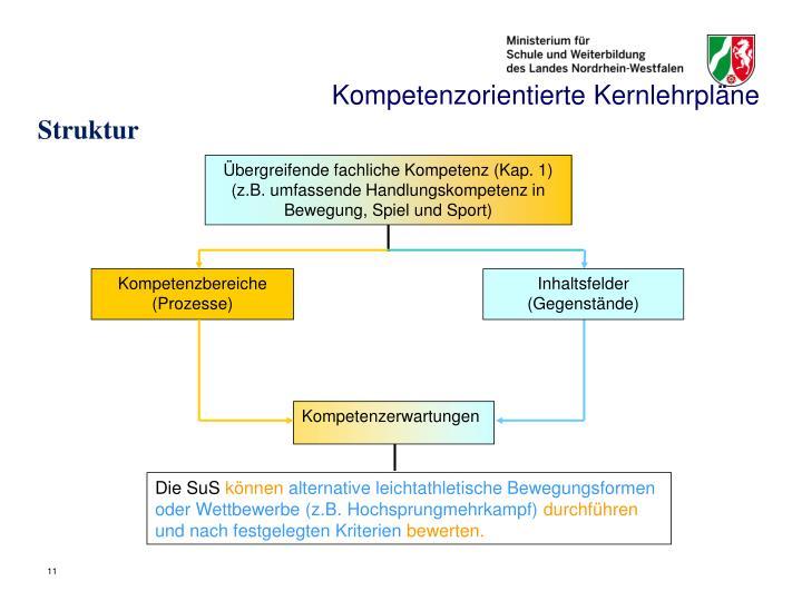Kompetenzorientierte Kernlehrpläne