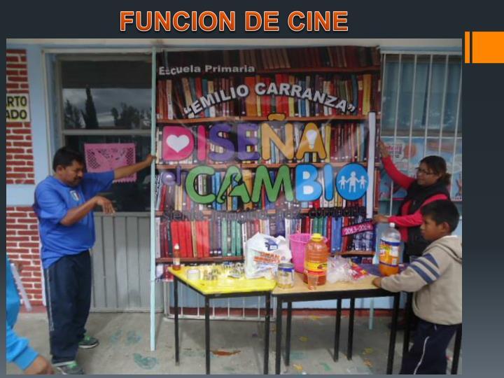 FUNCION DE CINE