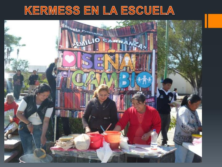 KERMESS EN LA ESCUELA