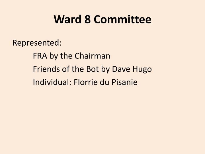 Ward 8 Committee
