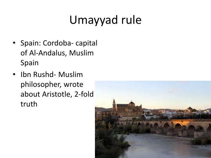 Umayyad rule