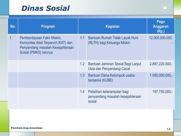 Dinas Sosial