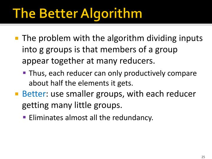 The Better Algorithm