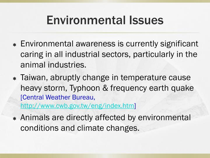 Environmental Issues