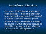 anglo saxon literature1