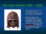 the anglo saxons 449 10666