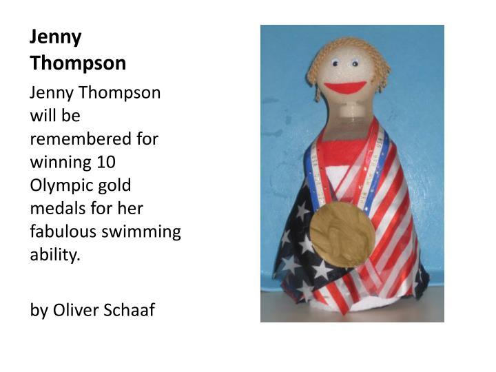 Jenny Thompson