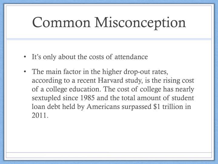 Common Misconception