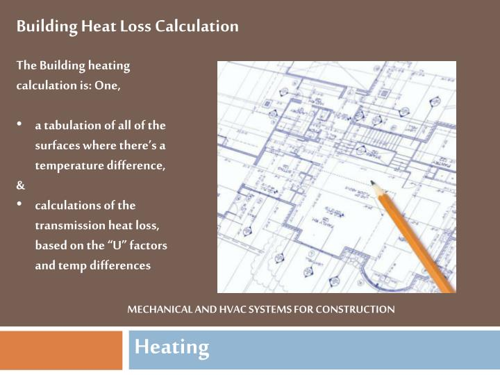 Ppt Mechanical And Hvac Systems For Construction