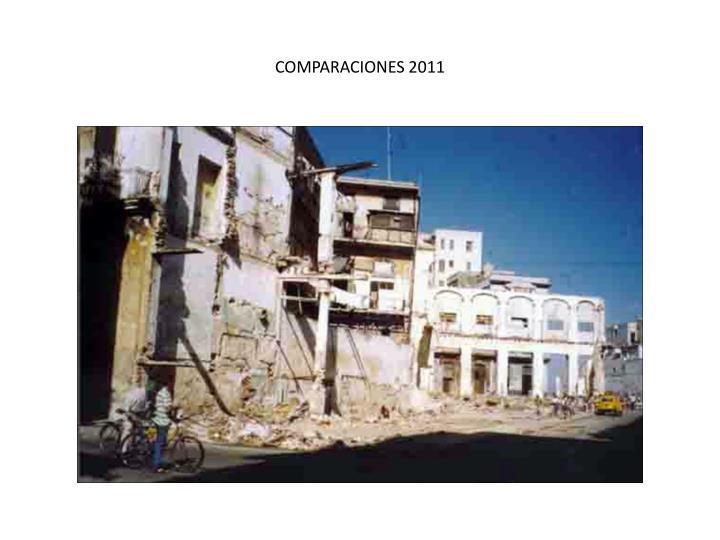 COMPARACIONES 2011