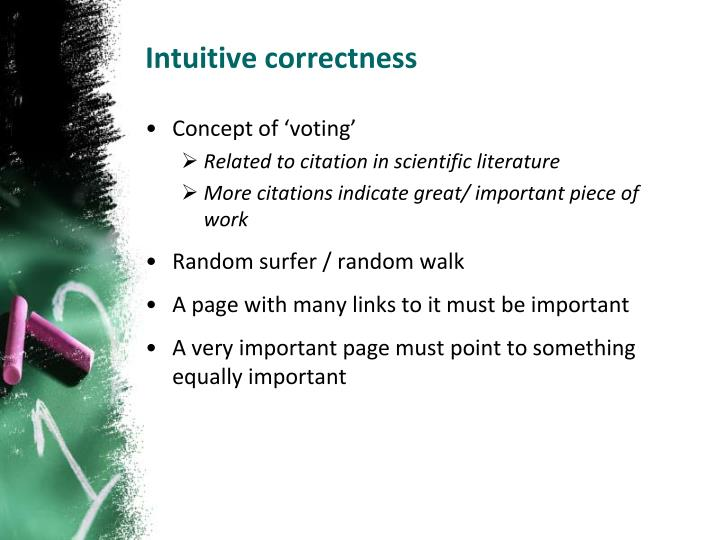 Intuitive correctness