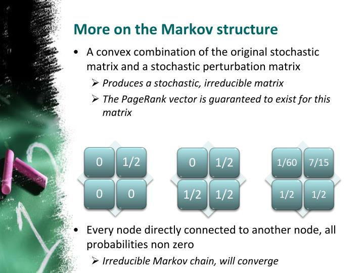 More on the Markov structure